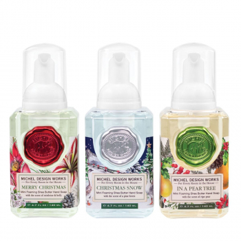 Michel Design Works 3er Set Mini Schaumseife á 140 ml
