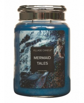Village Candle Fantasy Mermaid Tales 645 g - 2 Docht