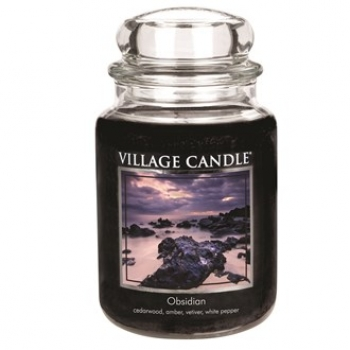 Village Candle Obsidian 645 g - 2 Docht