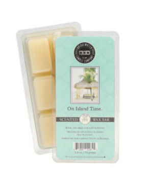 Bridgewater Candle Scented Wax Bar On Island Time 73 g