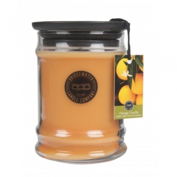 Bridgewater Candle Small Jar Orange Vanilla 250 g