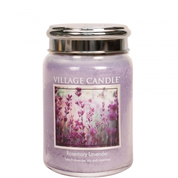 Village Candle Rosemary Lavender 645 g - 2 Docht