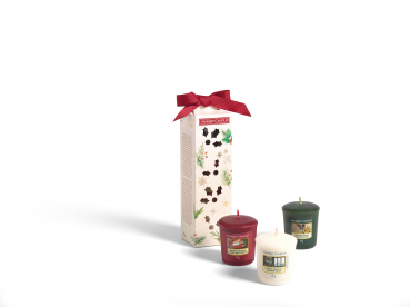 "Yankee Candle Geschenkset Christmas Magical ""3 Votive"""