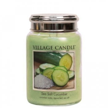 Village Candle Sea Salt Cucumber 645 g - 2 Docht