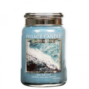 Village Candle Sea Salt Surf 645 g - 2 Docht