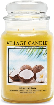 Village Candle Soleil All Day 602 g - 2 Docht