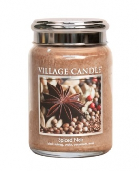 Village Candle Spiced Noir 645 g - 2 Docht