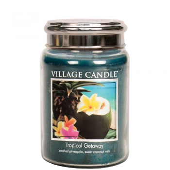 Village Candle Tropical Getaway 645 g - 2 Docht