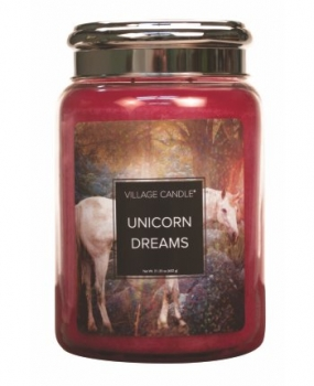 Village Candle Fantasy Unicorn Dreams 645 g - 2 Docht