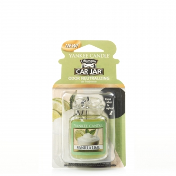 Yankee Candle Vanilla Lime Car Jar Ultimate 30 g