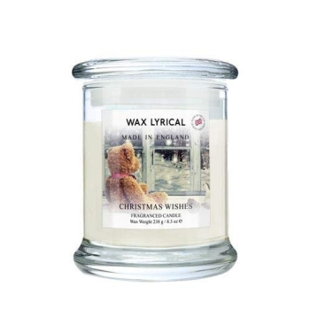Wax Lyrical - Made in England - Fragranced Jar Candle Christmas Wishes
