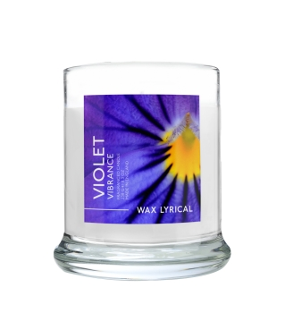 Wax Lyrical - Made in England - Fragranced Jar Candle Violet Vibrance