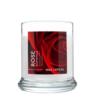 Wax Lyrical - Made in England - Fragranced Jar Candle Rose Romance