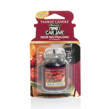 Yankee Candle Black Cherry Car Jar Ultimate 30 g
