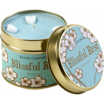 "Bomb Cosmetics ""Blissful Rest"" Tin Candle"