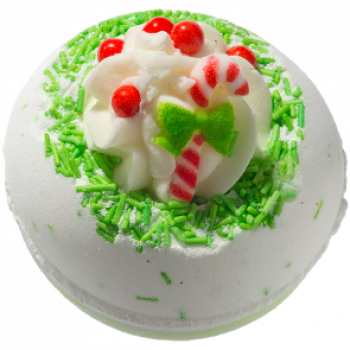Bomb Cosmetics Candy Cane Lane Bath Blaster 160 g