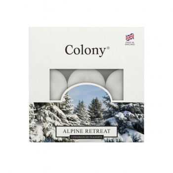 Wax Lyrical - Colony Fragranced Teelights Alpine Retreat - 9 Stück