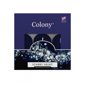 Wax Lyrical - Colony Fragranced Teelights Starry Night - 9 Stück