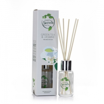 Ashleigh & Burwood - Earth Secrets - Green Tea & Jasmine Diffuser klein 50 ml