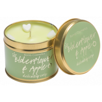 "Bomb Cosmetics ""Elderflower & Apple"" Tin Candle"
