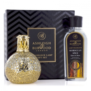 Ashleigh & Burwood Geschenkset - Duftlampe Little Treasure & Moroccan Spice 250 ml