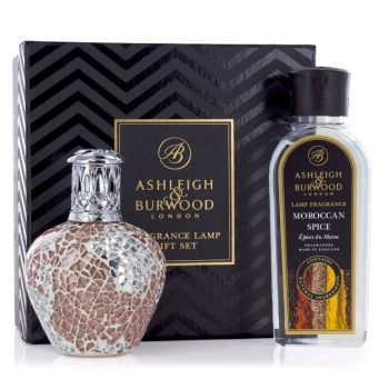 Ashleigh & Burwood Geschenkset - Duftlampe Apricot Shimmer & Moroccan Spice 250 ml