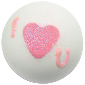 Bomb Cosmetics Heart That Glitters Bath Blaster 160 g