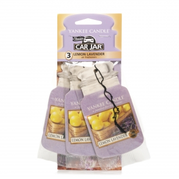 Yankee Candle Lemon Lavender Car Jar Bonus Pack