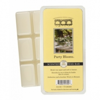 Bridgewater Candle Scented Wax Bar Party Blooms 73 g