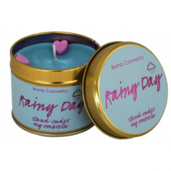 "Bomb Cosmetics ""Rainy Day"" Tin Candle"