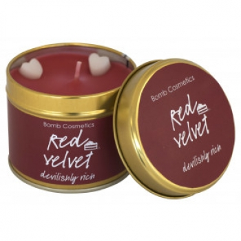 "Bomb Cosmetics ""Red Velvet"" Tin Candle"