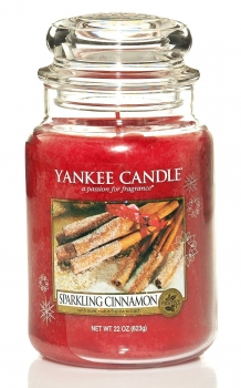 Yankee Candle Sparkling Cinnamon 623 g
