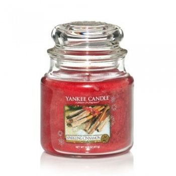 Yankee Candle Sparkling Cinnamon 411 g