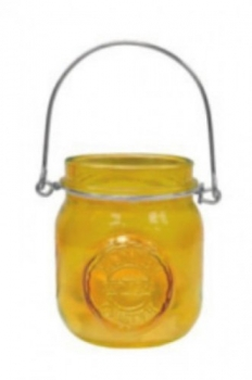 "Yankee Candle Tea Light Jars ""Yellow"""