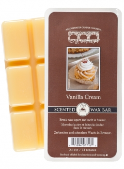 Bridgewater Candle Scented Wax Bar Vanilla Cream 73 g