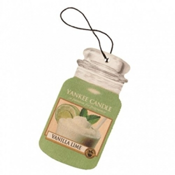 Yankee Candle Vanilla Lime Car Jar Single