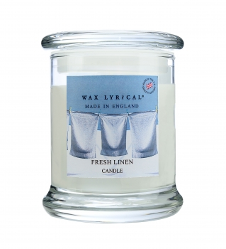 Wax Lyrical - Made in England - Fragranced Jar Candle Fresh Linen