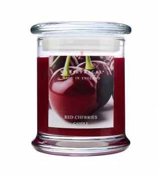 Wax Lyrical - Made in England - Fragranced Jar Candle Red Cherries